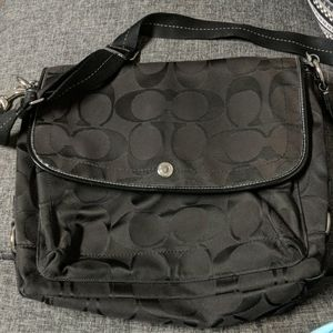 Large coach laptop bag